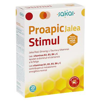 Sakai Jelly Proapi Senior 20Viales (Dietetics and nutrition , Vitality)