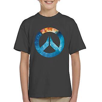 Herramienta t-shirt Galaxy silueta infantil
