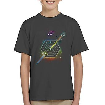 Space Fragmentation Travel Doctor Who Kid's T-Shirt