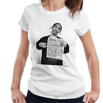 Snoop Dogg Daily Star Newspaper Women's T-Shirt