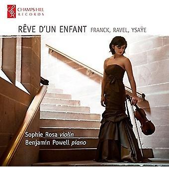 Franck / Rosa / Powell - Reve D'Un Enfant [CD] USA import