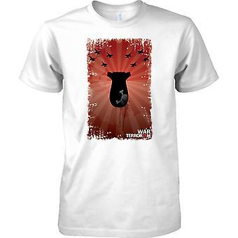 War on Terror Pop Art Design - Mens T Shirt