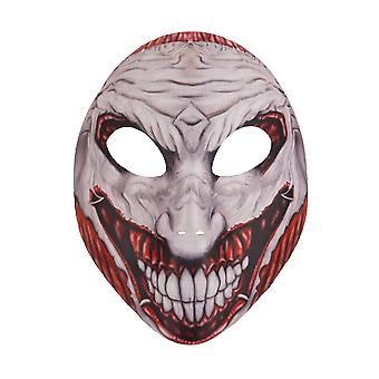 Adults Halloween Scary Joker Face Mask Fancy Dress Accessory