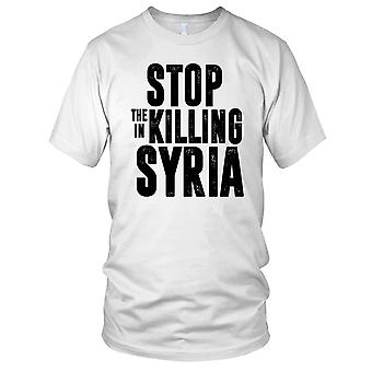 Stop The Killing In Syria Ladies T Shirt