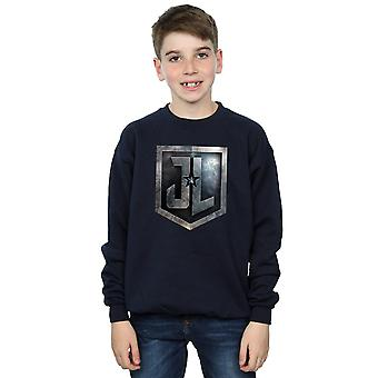 DC Comics Boys Justice League Movie Shield Sweatshirt