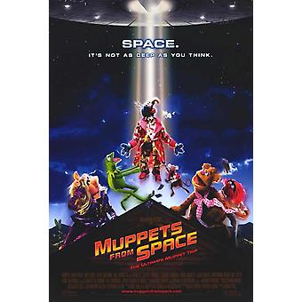 Muppets from Space Movie Poster (11 x 17)