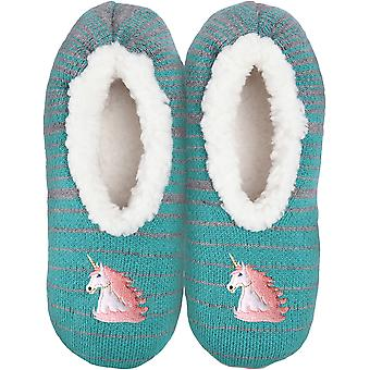 Novelty Slippers-Unicorn - Small/Medium KBWFS-51SM