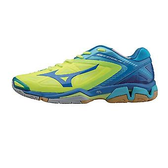 MIZUNO Wave Stealth 3 chaussure volley Indoor [jaune/bleu]