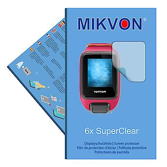 TomTom Runner 3 screen protector- Mikvon films SuperClear