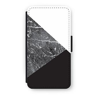 iPhone X Flip Case - marmor kombinasjon