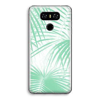 LG G6 Transparent Case - Palm leaves