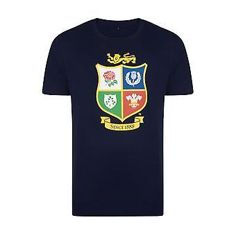 British & Irish Lions rugby logo t-shirt [navy]
