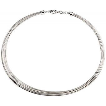 Beginnings Multi Wire Torque Collar Necklace - Silver