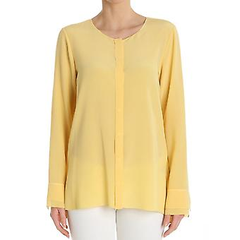 Her shirt ladies V01627240A615H yellow silk blouse