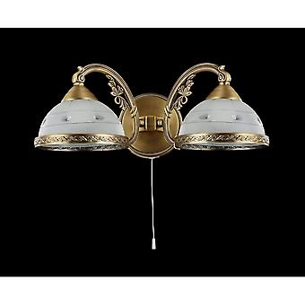 Maytoni Lighting Bristol Royal Classic Collection Sconce, Brass