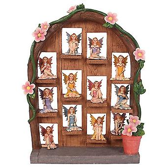 Something Different Fairy Figures With Fairy Door Display (Set Of 12)