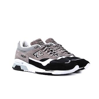 New Balance M1500 Made in England Grey & Black Suede Trainers