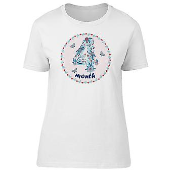 4 Month Anniversary Celebration Tee Women's -Image by Shutterstock