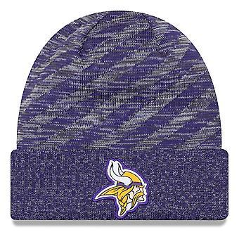 Nowa era NFL linii bocznej 2018 dzianiny kapelusz – Minnesota Vikings