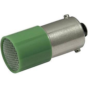 CML LED bulb BA9S Green 110 Vdc, 110 V AC 1.6 lm 1882 4121