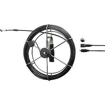 Endsocope probe VOLTCRAFT BS-9.8mm/20m Probe diameter 9.8 mm 20 m Waterproof, Swivelling, LED lit