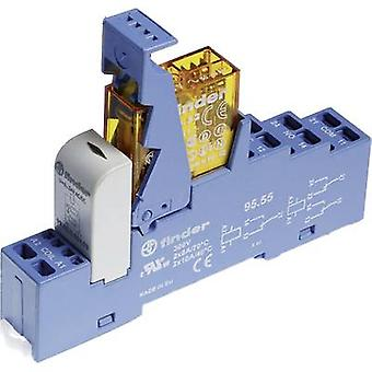 Finder 48.72.8.024.0060 Relay component 1 pc(s) Nominal voltage: 24 V AC Switching current (max.): 8 A 2 change-overs