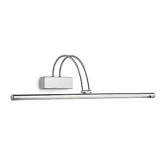 Ideal Lux Bow Chrom LED Bilderleuchte mit Schalter, 76cm
