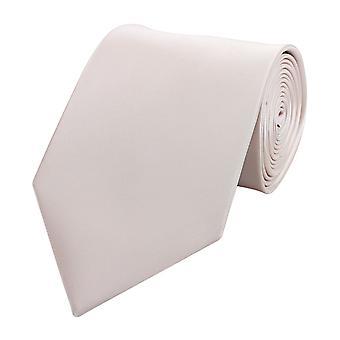 Knytte slipset binde bånd 8cm rosa uni Fabio Farini