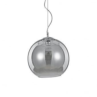 Ideal Lux Nemo Fume' Single Pendant Light D30