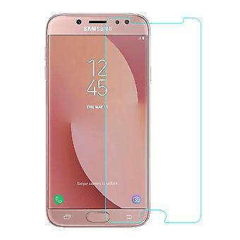 Samsung Galaxy J7 2017 Displayschutzfolie 9H Verbundglas Panzer Schutz Glas Tempered Glas