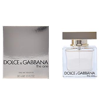 Dolce & Gabbana The One Eau De Toilette Vapo 30ml Womens New Perfume Scent Spray