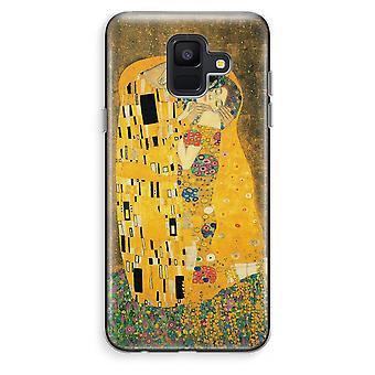 Samsung Galaxy A6 (2018) Transparent Case (Soft) - Der Kuss