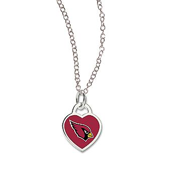 Wincraft dames Heart Necklace - NFL Arizona Cardinals