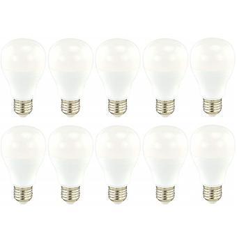 10 x Sylvania GLS A60 14W = 103W LED Light Bulb E27 Cool White 4000K 1580lm [Energy Class A+]