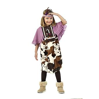 Indian Mädchkostüm Squaw Prairie girl child costume