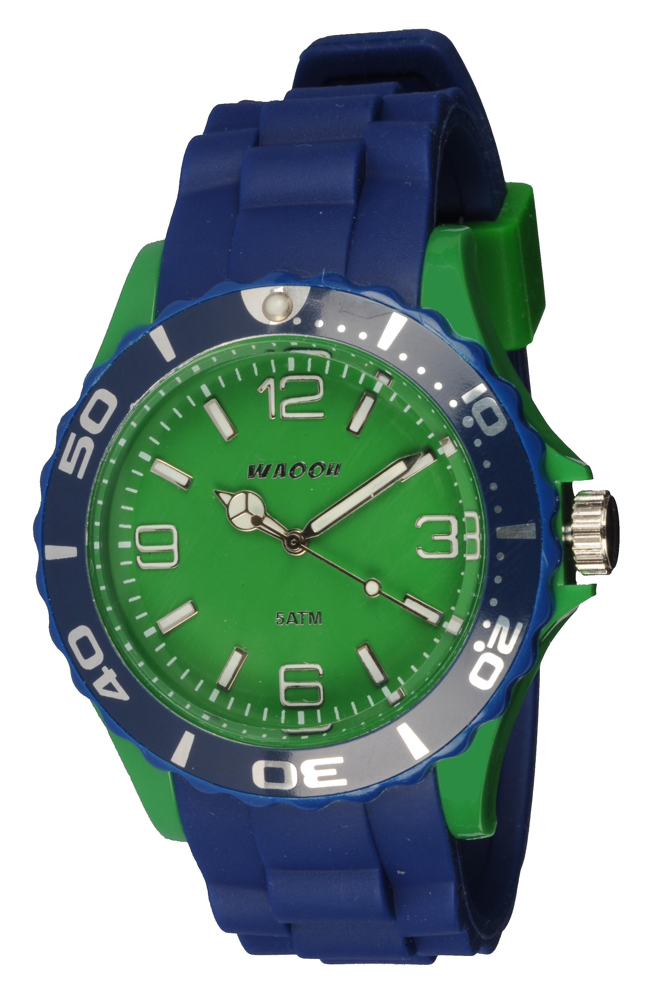 Waooh - Watch MC42 Bicolore & Green