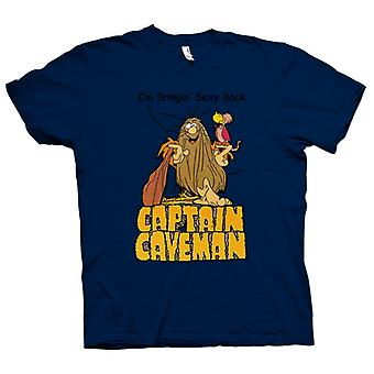 Mens t-shirt - Captain Caveman - Funny Cartoon - portare Sexy