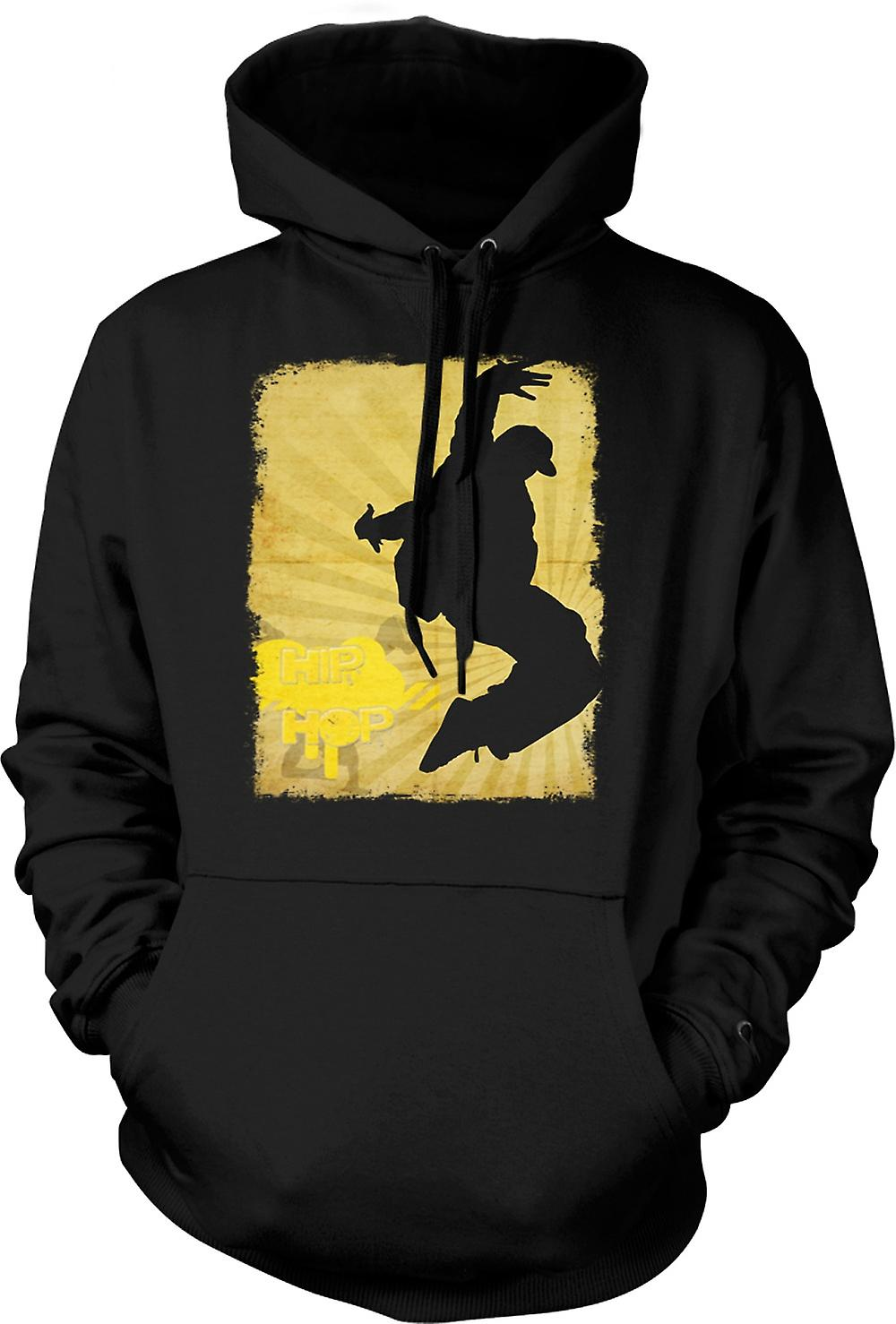 Mens Hoodie - Hip Hop - Break Dance