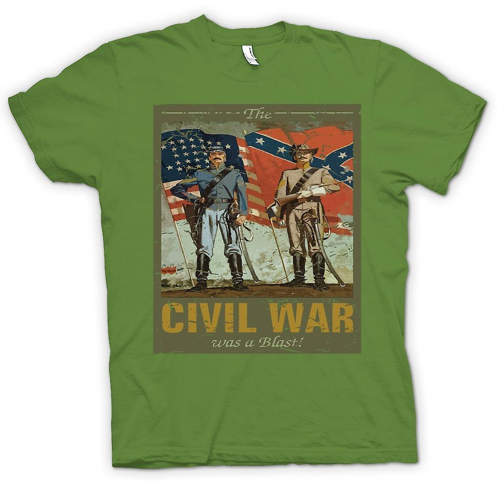 Mens T-shirt - The Civil War Was A Blast - American Civil War