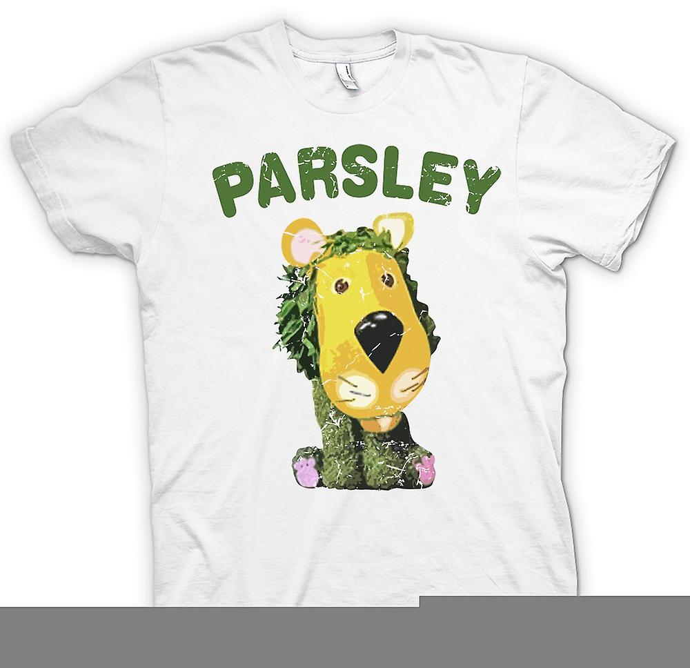 Mens T-shirt - Parsley The Lion - The Herbs