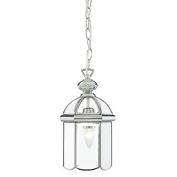Searchlight 5131CC Modern Chrome Hanging Hall Lantern