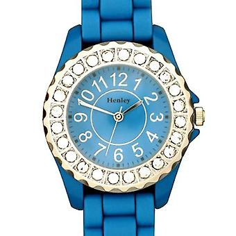 Henley Glamour Bling Aqua Ladies Sports Watch H0826.6