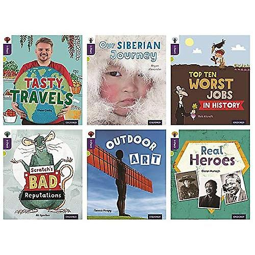 Oxford Reading Tree inFact  Level 11  Mixed Pack of 6