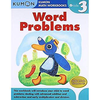 Word Problems, Grade 3 (Kumon Math Workbooks)