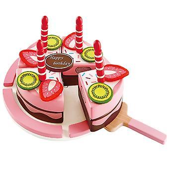 Jeu d'imitation enfant jeux jouets Gâteau d'anniversaire double goût 0102097