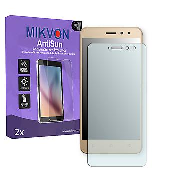 Lenovo K6 Screen Protector - Mikvon AntiSun (Retail Package with accessories)