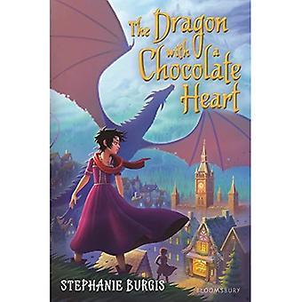 Dragen med sjokolade hjerte