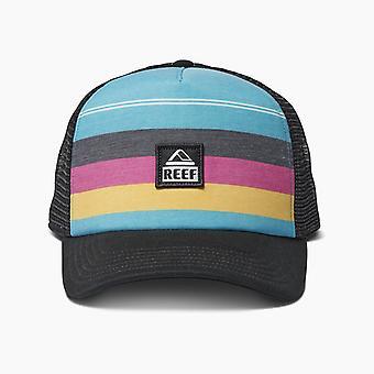 Reef Men's Snapback Trucker Cap ~ Peeler 2 aqua