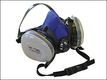 Scan Twin Half Mask Respirator + P2 Dust Filter Cartridges