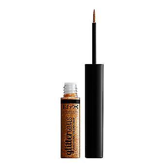 NYX Prof. MAKEUP Glitter Goals Liquid Eyeliner-Chamomile